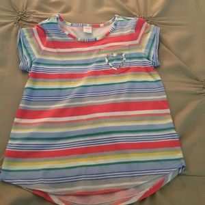 Gymboree size 10 striped shirt